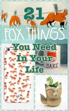 21 Adorable Fox Products You Need In Your Life