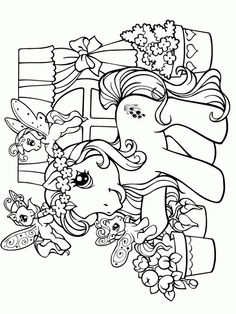 Bubakids My little pony. for preschool, kindergarten and elementary school children to print and color. Unicorn Coloring Pages, Horse Coloring Pages, Cool Coloring Pages, Coloring Books, Free Adult Coloring, Printable Adult Coloring Pages, Coloring Pages For Kids, Kids Colouring, Disney Princess Coloring Pages