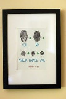 Family fingerprint tree // So cute!