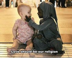 Islam is a religion of brotherhood it doesn't care if any one is dark or fair we all our. Brother and sister.