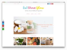 Our case study series finds world-class creatives bloggers and enterprise house owners utilizing WPZOOM themes to maneuver their tasks forwards and finds out what makes them tick. Most just lately we talked with award winning filmmaker Danny Cooke.  As we speak I am excited to share my dialog with Lisa at Eat Move Glow. Lisa is a UK-registered nutritionist who began her weblog to encourage ladies to discover a wholesome stability in life.  Lisa was recognized with most cancers in 2011 and…