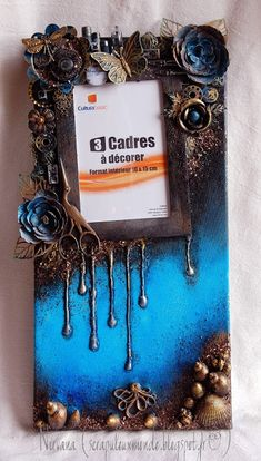 Mon Scrap'uleux Monde!: WITH VIDEO TUTORIAL: Canvas avec photo interchangeable!