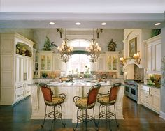 Luxury Kitchen in Plan 065S-0035 | House Plans and More
