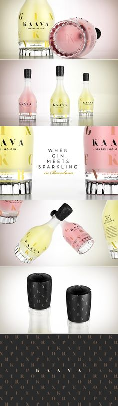 KAAVA, When Gin Meets Sparkling — The Dieline | Packaging & Branding Design & Innovation News