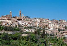 Castello Banfi Winery in Montalcino 1 hour from Poggio Etrusco