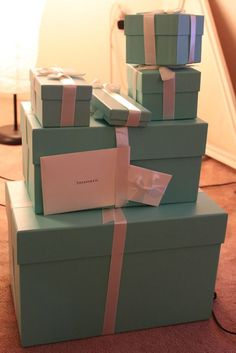 Cant go wrong with a luxury gift from Tiffany & Co. Cant go wrong with a luxury gift from Tiffany & Co.