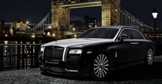 Rolls Royce Ghost San Mortiz by Onyx, The Rolls Royce Ghost has always reminded me of an elegant lounge. It seemed better suited for a car show than on the st Rolls Royce Wraith, Rolls Royce Phantom Coupe, Rolls Royce Cars, Maserati, Bugatti, Ferrari, Audi, Bmw, Porsche
