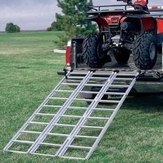 Yutrax ATV Extra-Long, Heavy-Duty Tri-Fold Loading Ramp : Cabela's