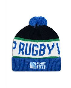 Uh oh! Bye bye money. The new rugby gear is here. RUGBY WORLD CUP 2015 SHOP - RWC 2015 Bobble Beanie
