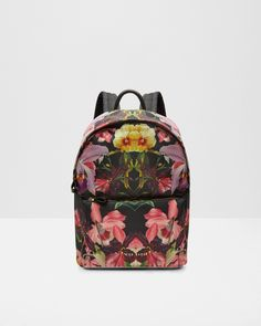 Lost Gardens backpack - Black | Bags | Ted Baker