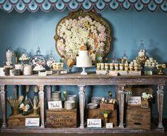 Dessert Tablescape | Charleston Wedding Magazine