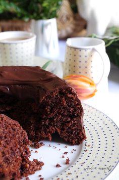 smaki i aromaty: Ciasto czekoladowo-orzechowe z 'nutellą'