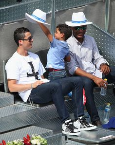 Cristiano Ronaldo (with Cristiano Jr.) | 31 Soccer DILFs Who Will Make Your Heart Melt