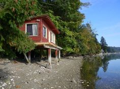 288 Sq. Ft. Waterfront Tiny Cabin with Lot For Sale Photo