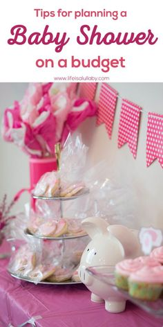 Tips for planning a baby shower on a budget