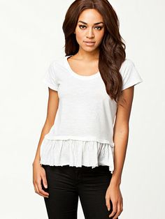 peplum top New Outfits, Fashion Outfits, Womens Fashion, Peplum, Clothes, Tops, Summer, Style, Outfits