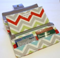 PDF pattern - Envelope System Wallet. $5.00, via Etsy.