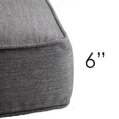 """Show products in category Chair Cushions - 6"""" thick Patio Chair Cushions, Patio Chairs, Diy Storage Couch, Replacement Cushions, Free Fabric Swatches, Chair Backs, Outdoor Fabric, Outdoor Seating, Pillows"""