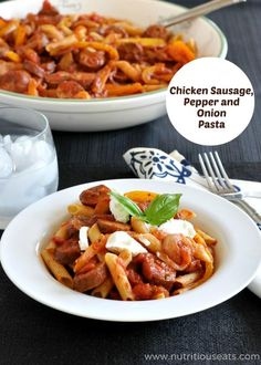 Chicken Recipes Chicken Peppers and Onion Pasta Gluten Free recipe