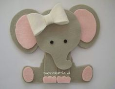 Ideas Baby Shower Ideas For Girls Themes Elephant Animals Elephant Party, Elephant Theme, Elephant Baby Showers, Baby Elephant, Baby Crafts, Felt Crafts, Diy And Crafts, Paper Crafts, Baby Shower Parties