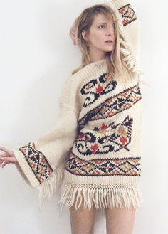 what do you think of having big sweaters knit? Afg style? If there even is a sweater style but i like the idea