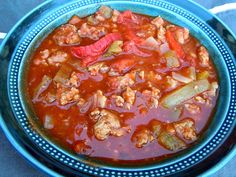 Hearty Italian Sausage Stew - Freezer Meals - Freezer Cooking - Once A Month Meals Slow Cooker Recipes, Crockpot Recipes, Cooking Recipes, Chowder Recipes, Soup Recipes, Fall Recipes, Yummy Recipes, Sausage Stew