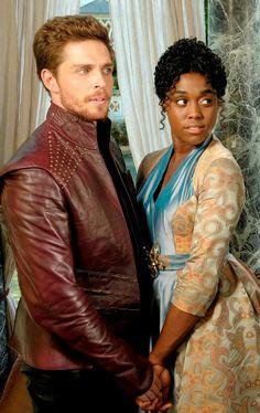 Wade Briggs and Lashana