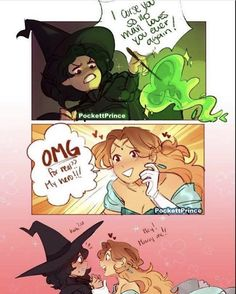 Funny fairytale comics: so a witch curses a princess that wronged her but… © Lgbt Memes, Funny Memes, Lgbt Love, Funny Comics, Gay Comics, Cute Drawings, Comic Strips, Funny Pictures, Sketches
