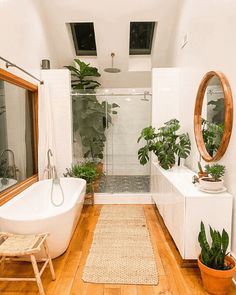 Bohemian Interior Design, Bathroom Interior Design, Interior Decorating, Bohemian Decor, Modern Bohemian, Natural Bathroom Interior, Natural Modern Interior, Bohemian Style, Apartments Decorating