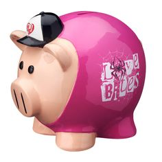 Save up your change with this Official WWE Superstar Piggy Bank! AJ Lee, my favorite