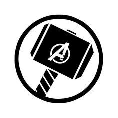 Thor Symbol, Symbol Logo, Man Wallpaper, Marvel Wallpaper, Hammer Logo, Avengers Symbols, Helmet Paint, Ironman, Thors Hammer