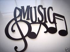 Music Word And Music Notes Metal Wall Art Decor JNJ Metalworks http://www.amazon.com/dp/B004KAJ8M2/ref=cm_sw_r_pi_dp_B6TDub1NSZJCK