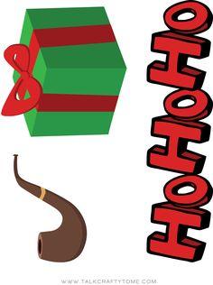 Christmas Photo Booth Printables Christmas Photo Booth Props, Christmas Party Themes, Christmas Bows, Christmas Photos, Holiday Crafts, Christmas Templates, Christmas Printables, Card Sketches, Holidays And Events