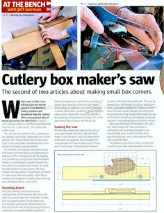 Splined Miter Joint Jig - Joinery