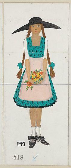 Children's Fashion, Artist: Mela Koehler (Austrian, Vienna 1885–1960 Stockholm), Publisher: Wiener Werkstätte, Date: 1912