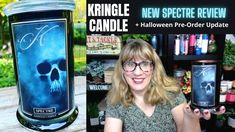 Holiday Candles, Halloween Candles, Ashland Candles, New Fragrances, Sugar Skulls, Bath And Body Works, Chic, Beautiful, Shabby Chic
