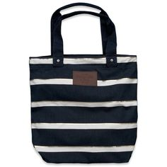 Abercrombie & Fitch Shine Book Tote ($44) ❤ liked on Polyvore