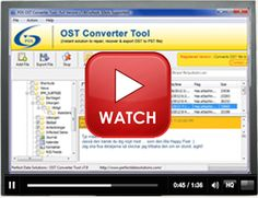 OST converter tool to successfully convert OST to PST.