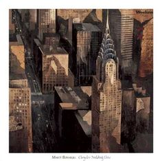 Chrysler Building View by Marti Bofarull