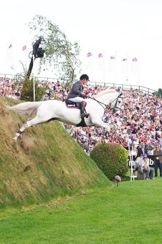 Wow! Beautiful horse jump! John Whitaker and Milton