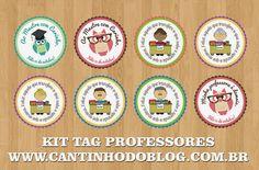 Tag e etiquetas para o Dia dos Professores - Cantinho do blog