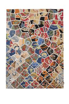 Dutch Landscapes rug by Roderick Vos for ICE International