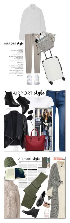 """""""Winners for Wanderlust Wonderful: Airport Style"""" by polyvore ❤ liked on Polyvore featuring DAY Birger et Mikkelsen, Proenza Schouler, CalPak, NARS Cosmetics, Richmond & Finch, OY-L, Byredo, Kiehl's, Tangle Teezer and NIKE"""