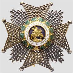 SPANIEN - Francoherrschaft - Orden des Hl. Hermengildo,