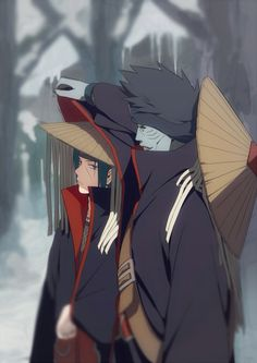 Uchiha itachi n Kisame