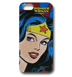 Save $5 on any order over $25 order when you share our page to your favorite social media network.  Discount does not apply to HeroBox Wonder Woman Profile iPhone 5 Snap Case