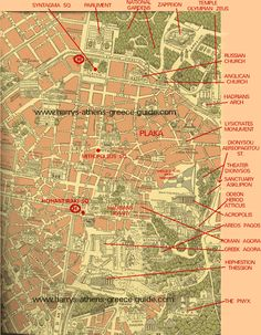athens greece area map TheCrazyCities crazyAthens wwwhouse2book