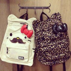These are my school bags
