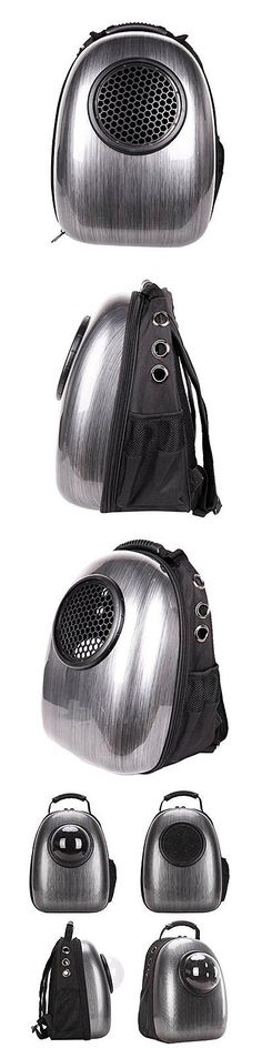 Carriers and Totes 177788: Space Capsule Bubble Pet Carrier Backpack Waterproof Travel Bag For Cat Dog BUY IT NOW ONLY: $33.88