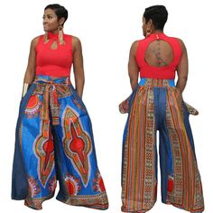 Material: Polyester Gender: Women Special Use: Traditional Clothing Item Type: Africa Clothing Type: Pants Pattern: Printing Pigment: White, Blue, Blue, PinK Technology: Printing/Dyeing & Printing